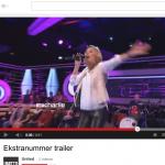 Jeg gir en sang i Ekstranummer på TV Charlie….