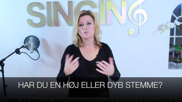 Har du en høj eller dyb stemme?