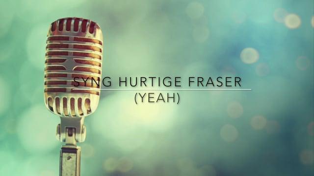 Syng hurtige fraser. Niveau 2