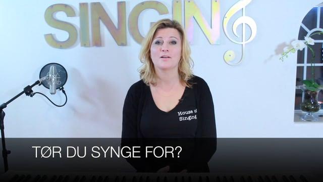 Tør du synge for?