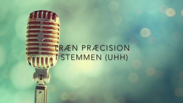 Træn præcision i stemmen, syng rent. Niveau 2