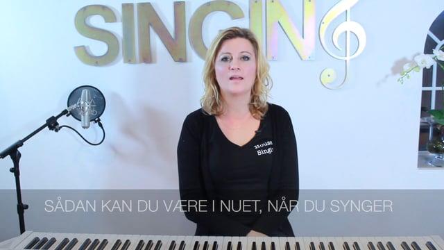 Vær i nuet når du synger